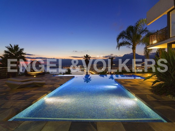 House in Benidorm Rincón de Loix - Ultra luxury villa with breathtaking views. Swimming pool