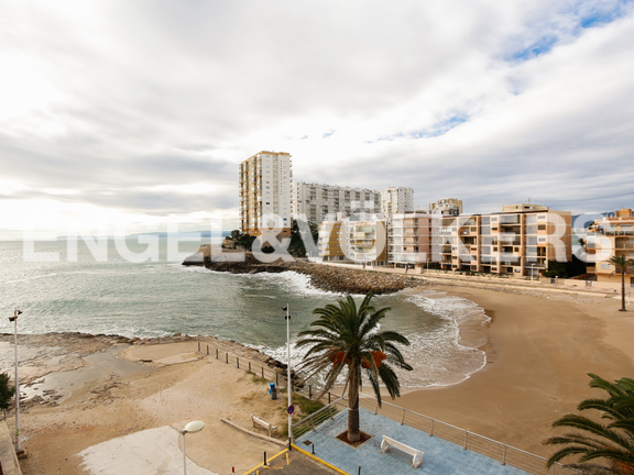 House in Cullera - View to the beach