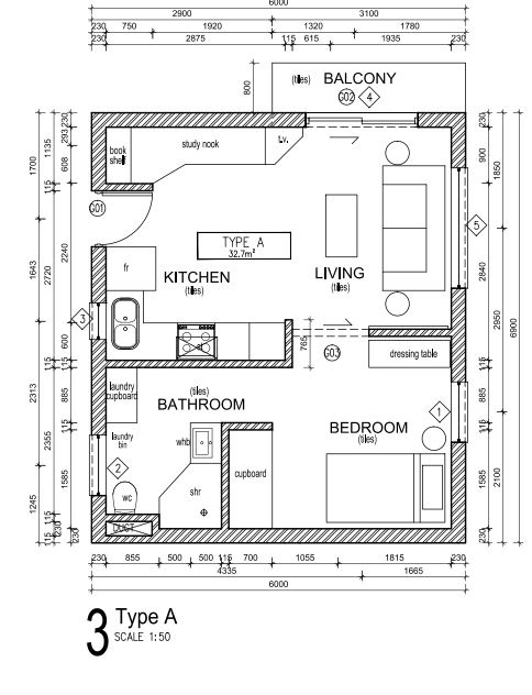 Condominium in Bult - Unit Type A