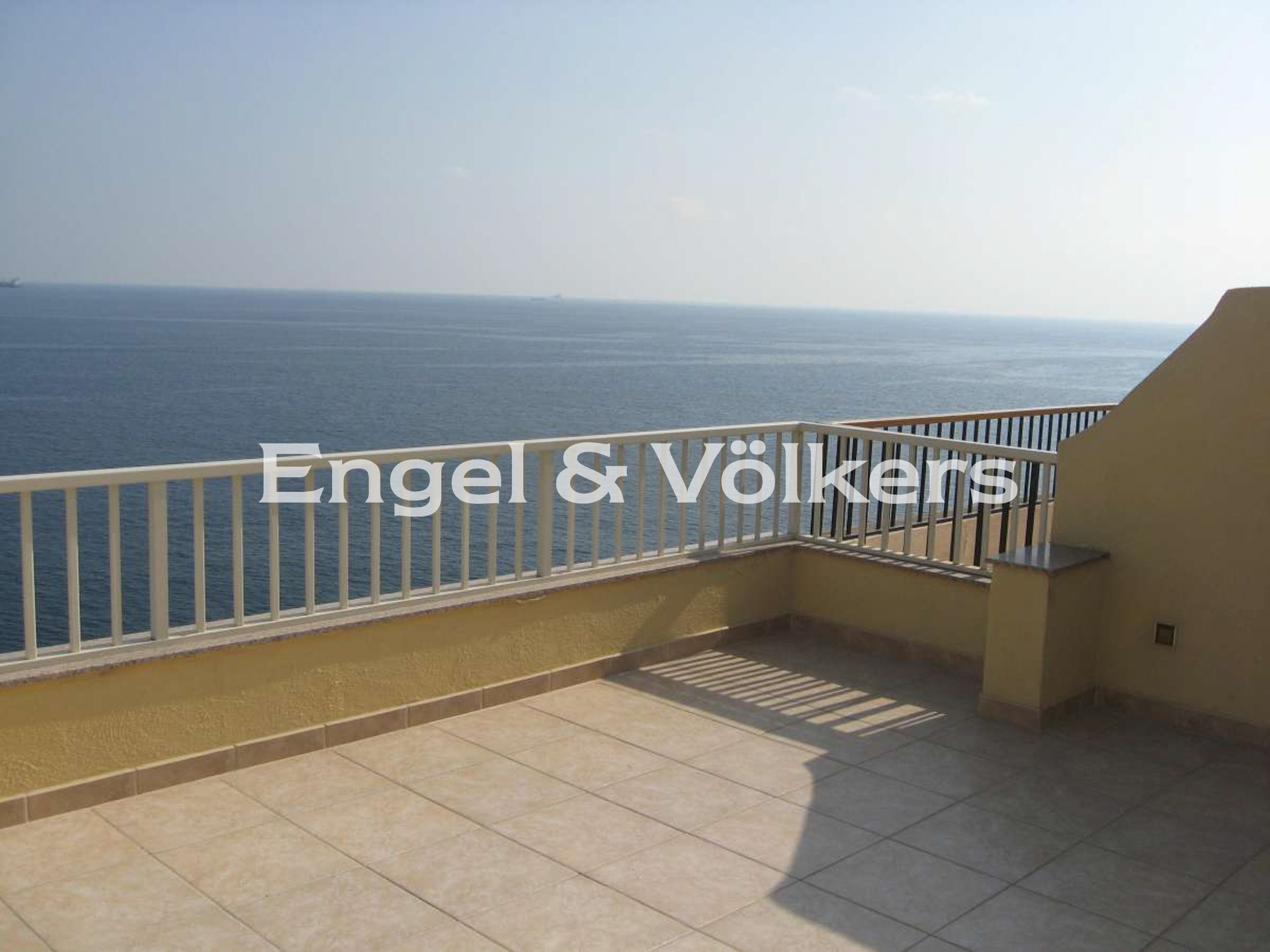 Apartment in Sliema - Penthouse, Sliema, Terrace with a sea view