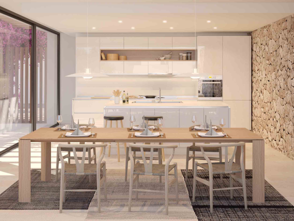 House in San José - Design for the kitchen
