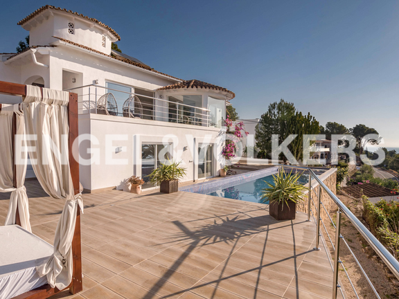 House in Benissa - Stunning Recently Renovated Luxury Villa in Fanadix, Villa