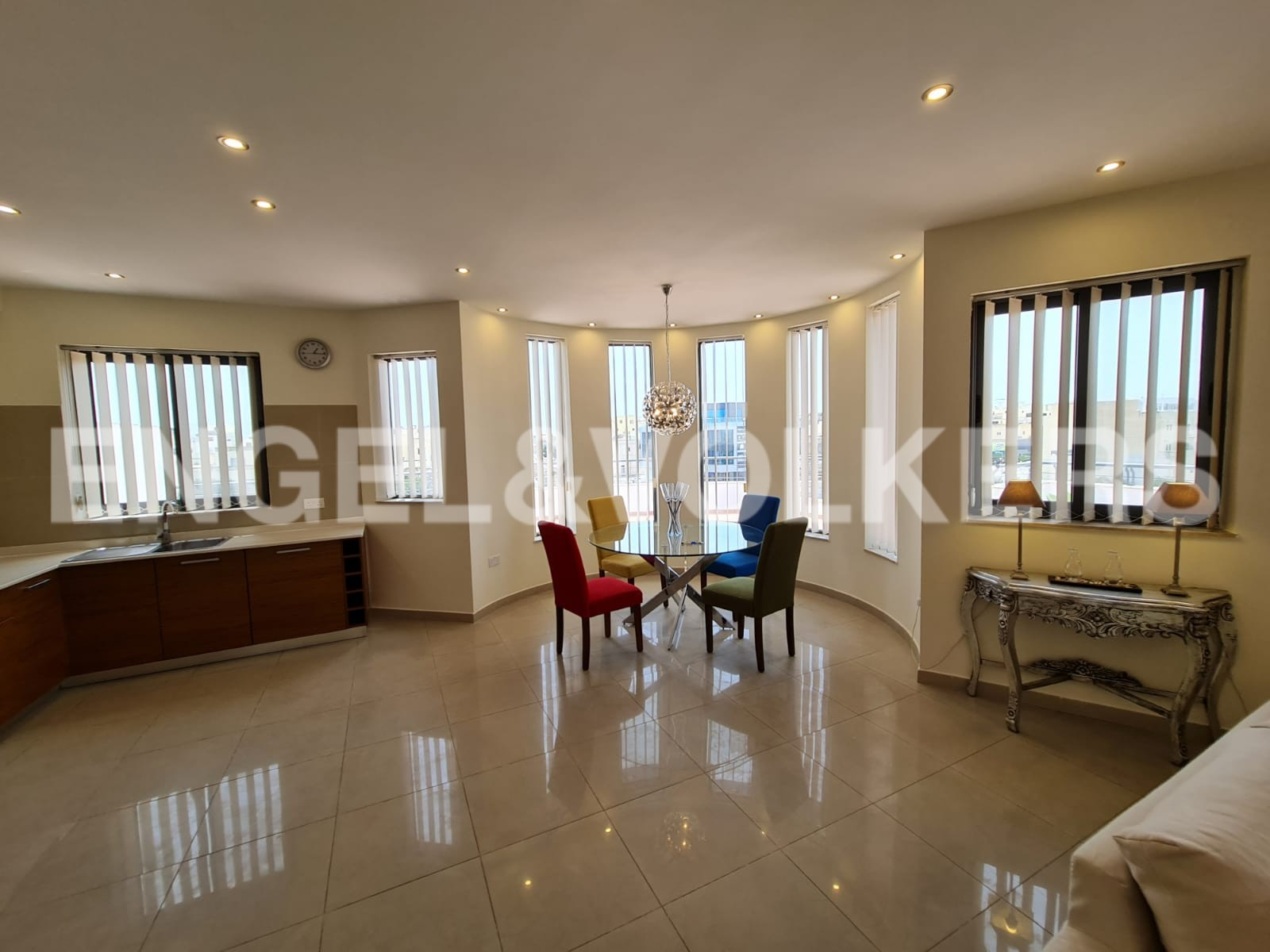 Apartment in Msida - Kitchen / Living / Dining Area