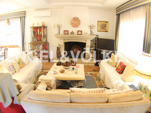 House in Benidorm Rincón de Loix - Sunny Manor House in Quiet Area. Living-room