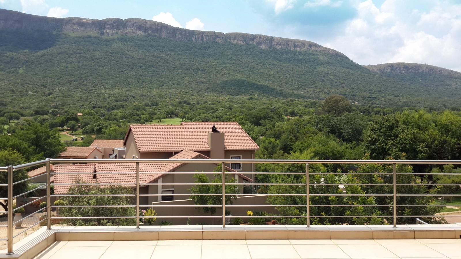 House in Magalies River Club and Golf Estate - View from second floor