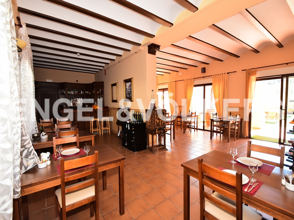 House in Finestrat - Charming villa, in natural environment in Finestrat. Living Dinning room