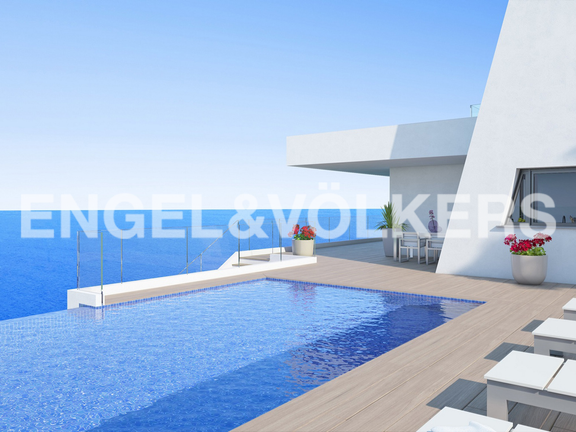 Modern Luxury Villa in Cumbre del Sol, Views