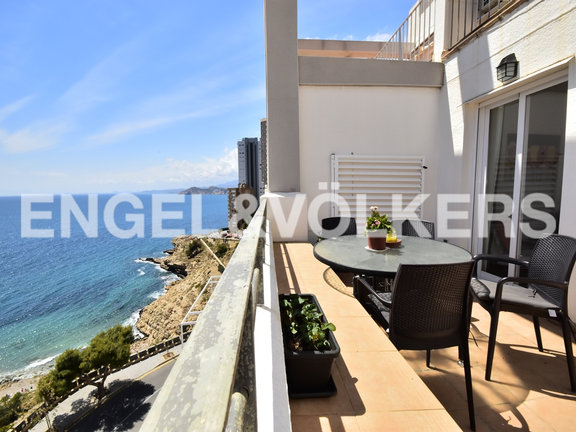 Condominium in Benidorm Rincón de Loix - Penthouse duplex in quiet area in Benidorm. Terrace
