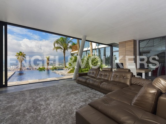 House in Benidorm Rincón de Loix - Ultra luxury villa with breathtaking views. Master living room