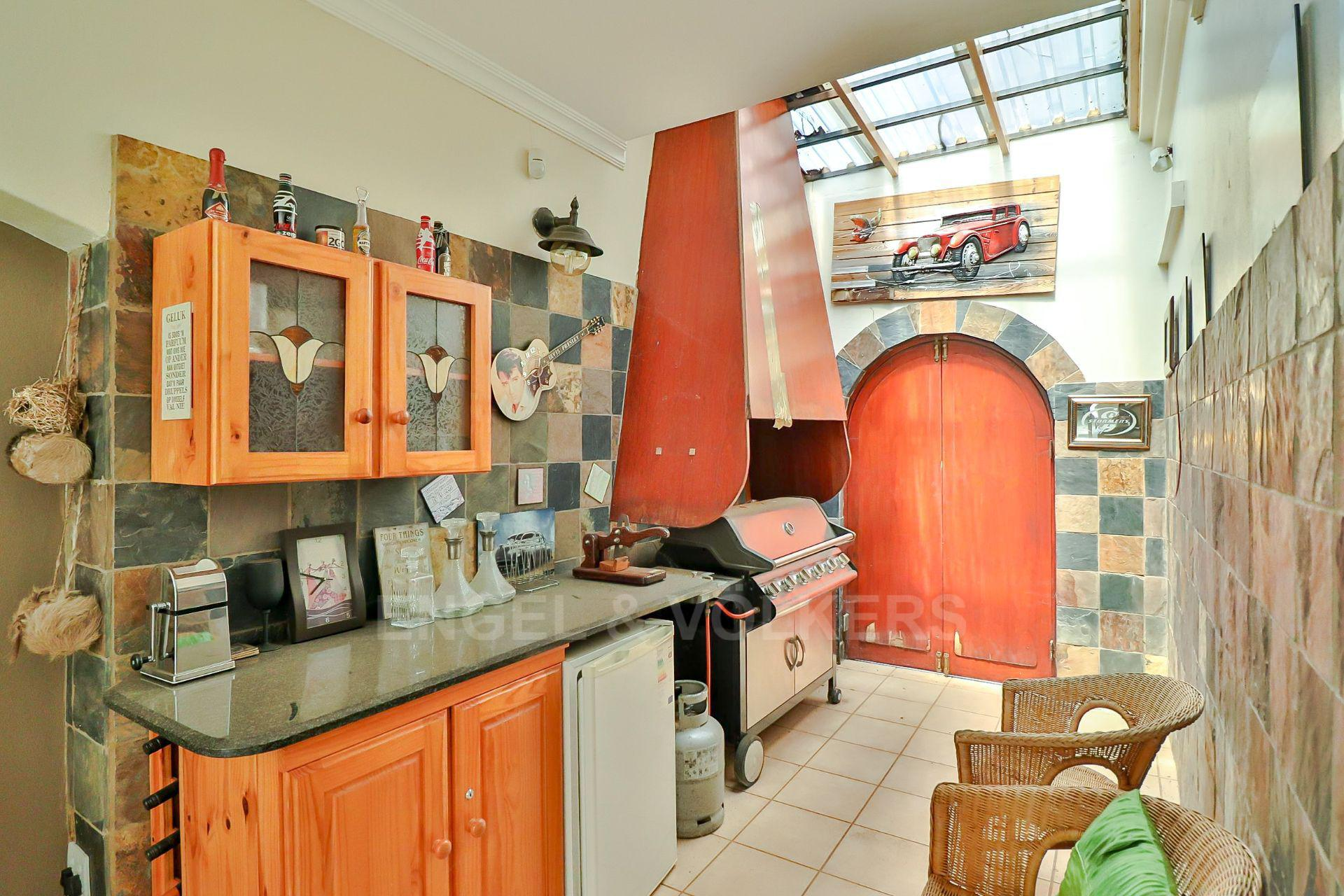 House in Ifafi - Gas braai area