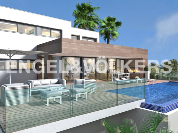 Luxury Villa in Cumbre del Sol, Villa