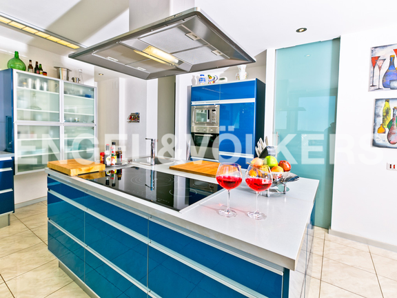 House in Moraira - Modern High Quality Luxury Finca in Teulada-Moraira, Kitchen