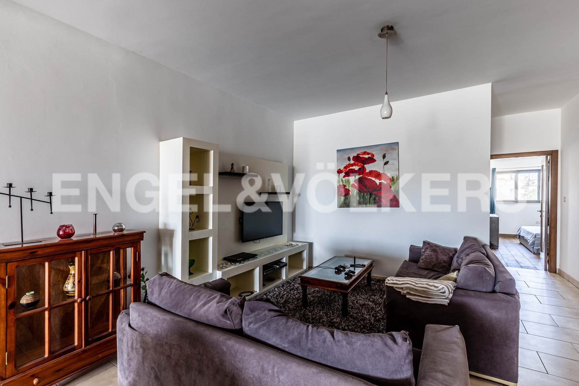 Apartment in St.Julians - Living Room
