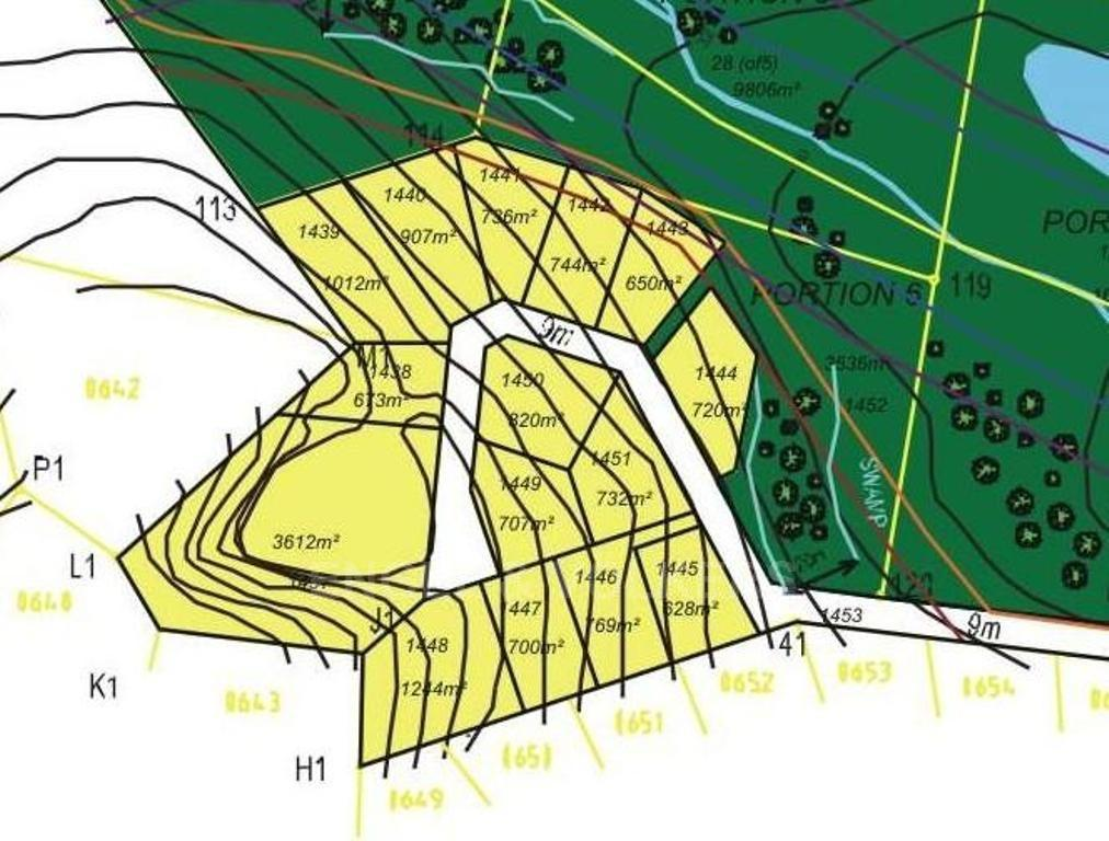 Land in Shelly Beach - Site Plan