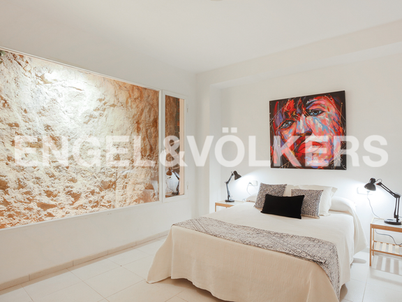House in Cullera - Stylish bedroom