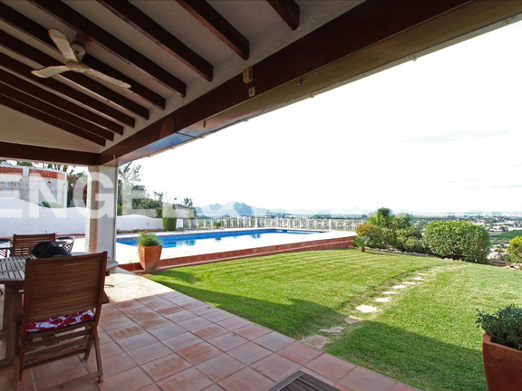 House in Dénia Montgó - House with fantastic sea views in Denia.Terrace