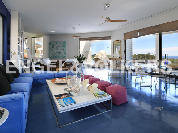 House in Ntra. Sra. de Jesús - Living room with view to the terrace