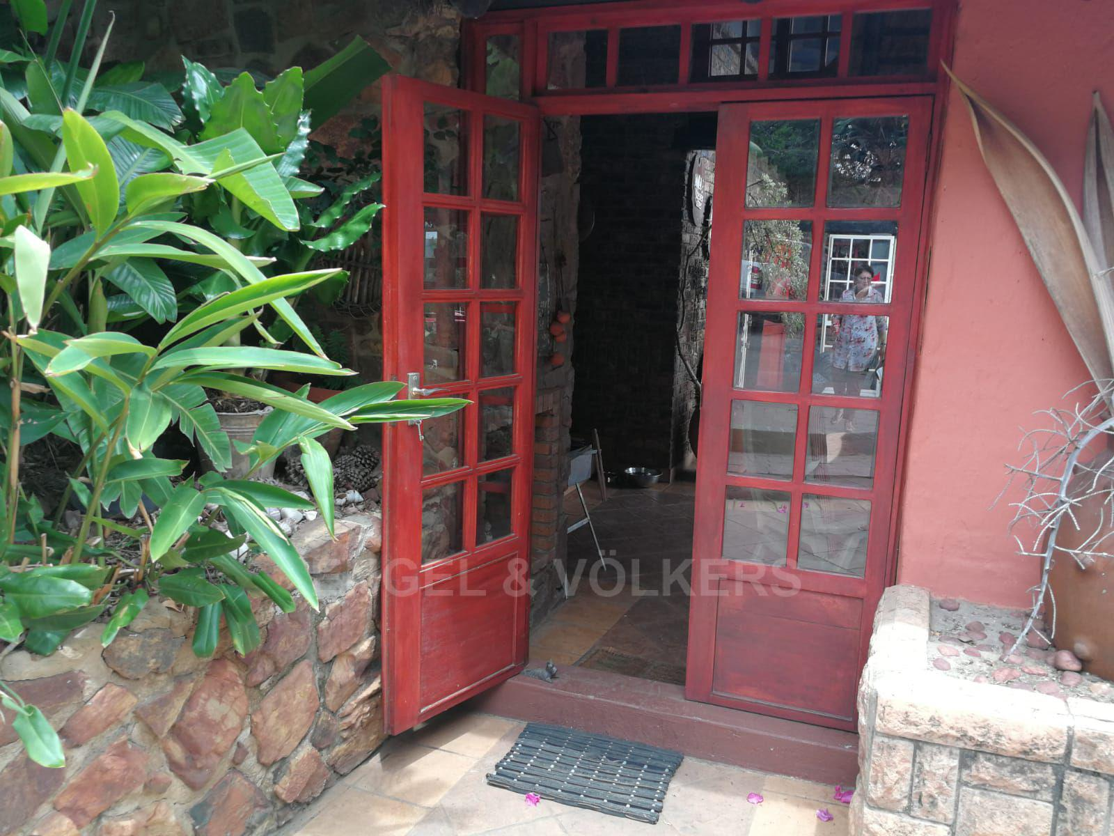 Land in Hartbeespoort Dam Area - Welcoming front door