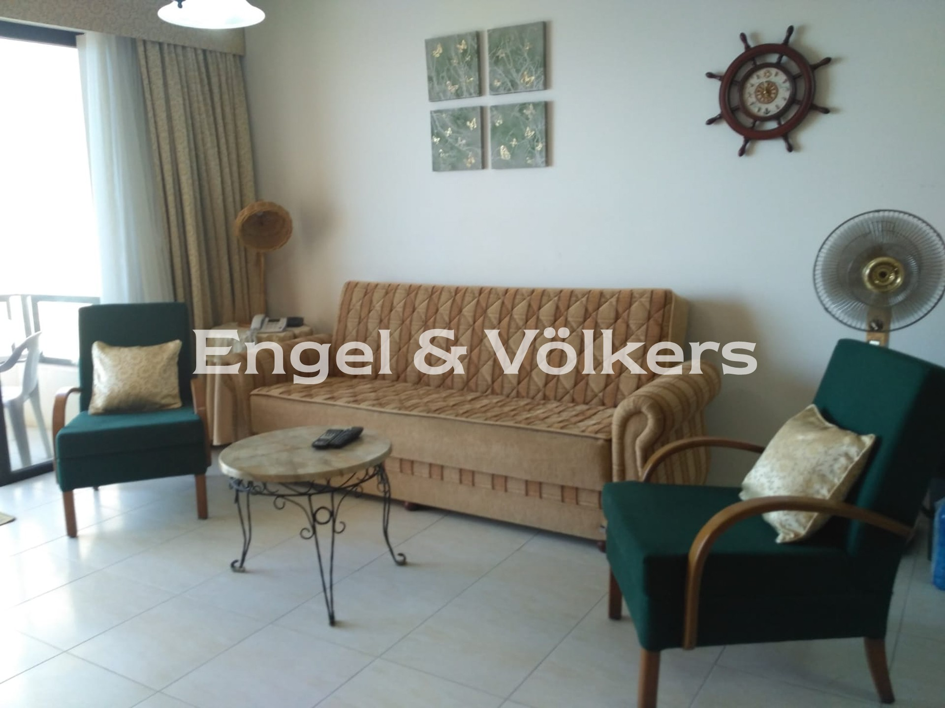 Apartment in M'Scala - Apartment, M'Skala, Kitchen/Dining/Living