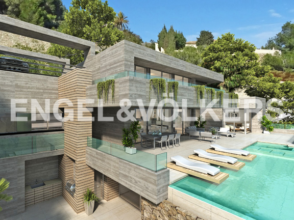 Modern High Quality Luxury Villa in Racó de Galeno - Benissa, Villa