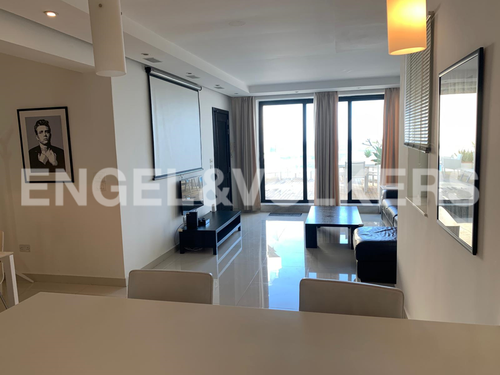 Apartment in Sliema - Penthouse, Sliema, Kitchen / Living / Dining