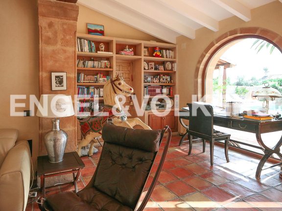 House in Montgó - Spectacular rustic style villa on the Montgó