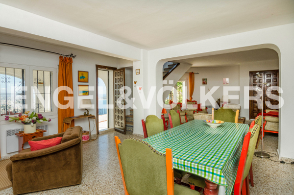 House in Calpe - Living and dining area