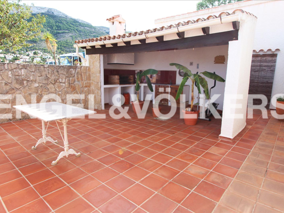 House in Dénia Montgó - House with fantastic sea views in Denia.BBQ