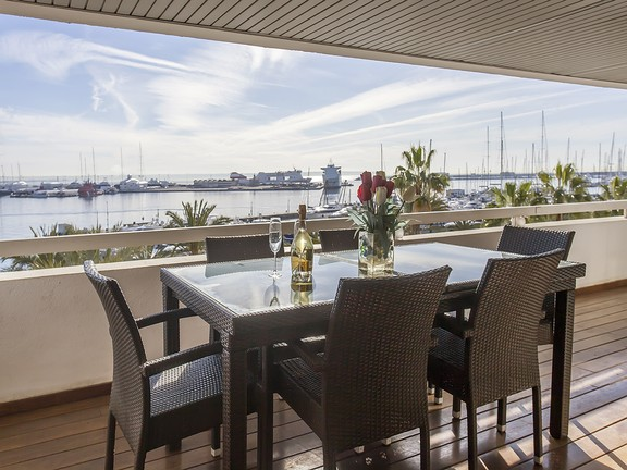 Condominium in Paseo Maritimo - Views from the terrace property Paseo Maritimo