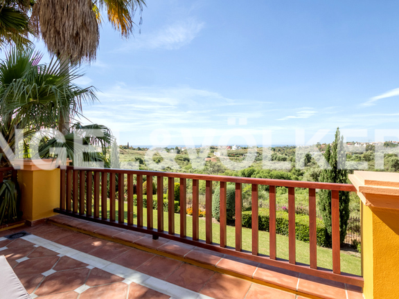 House in Marbella hill club - Terrace View