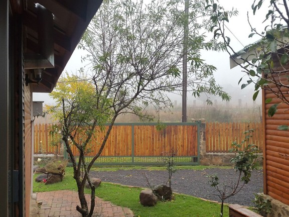 House in Dullstroom Village - View from deck towards front entrance.jpg