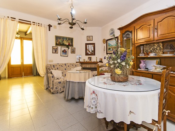 House in Pollensa - Living to entrance