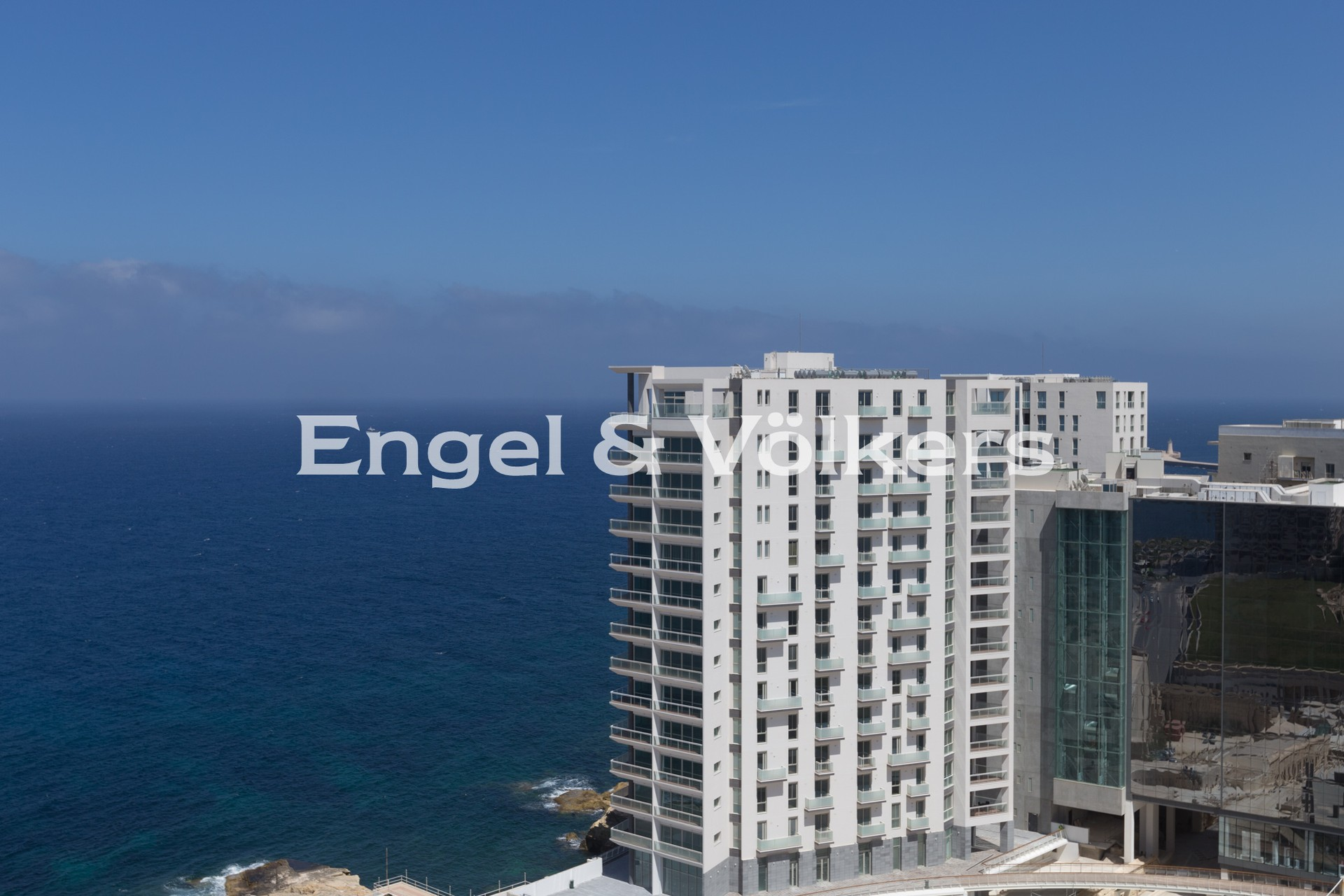 Apartment in Sliema - Apartment, Sliema, Terrace with a Magnificant Seaview