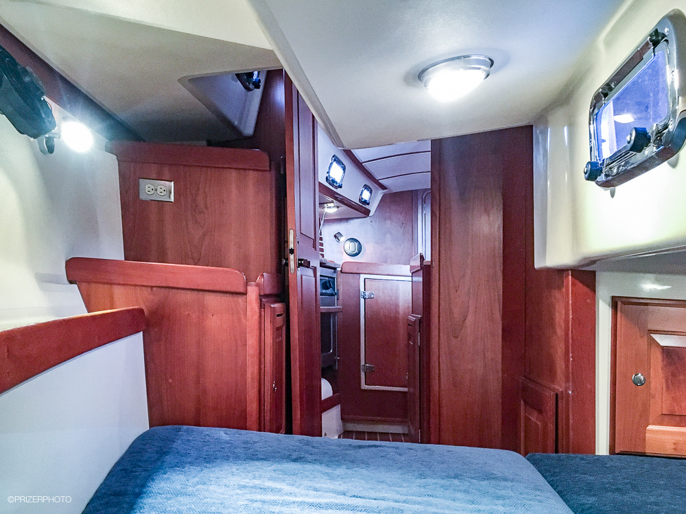 Sail in United States - Aft cabin looking forward.
