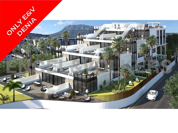 New luxury complex in Las Marinas, km.1 - Dénia