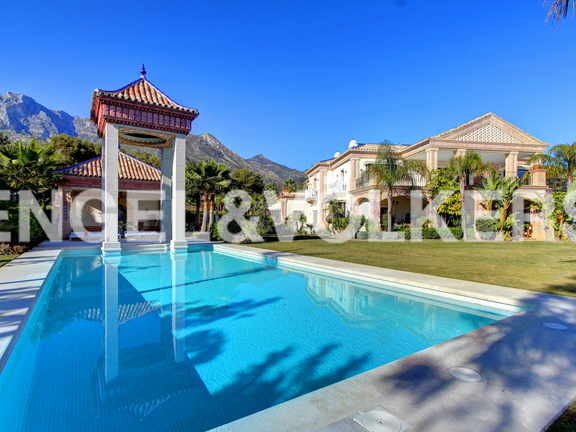 Palatial Villa for sale in Sierra Blanca Marbella