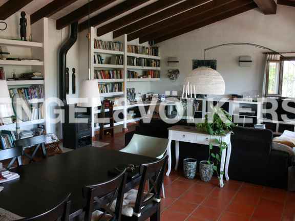 House in Jávea Golf - Rustic Property next to the Javea Golf Course. Dining/Living room.