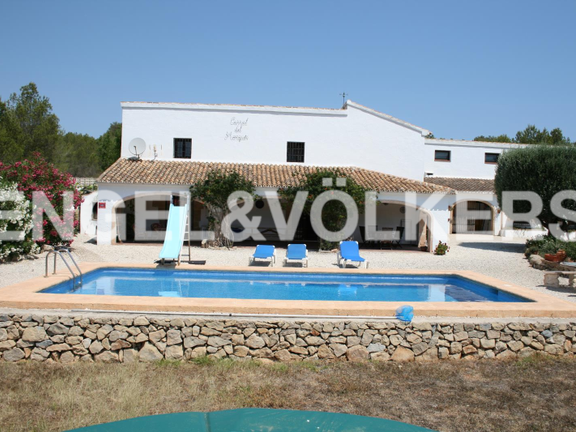 House in Jávea Golf - Rustic Property next to the Javea Golf Course.