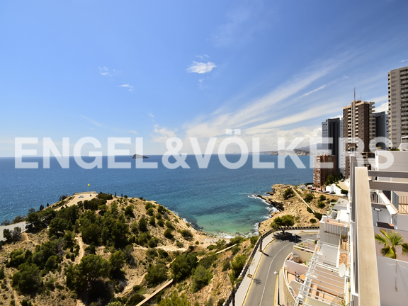 Condominium in Benidorm Rincón de Loix - Penthouse duplex in quiet area in Benidorm. Views