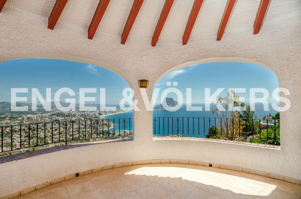 House in Calpe - Terrace and view