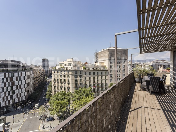 Condominium in Eixample Dreta - Fabulous terrace with city views