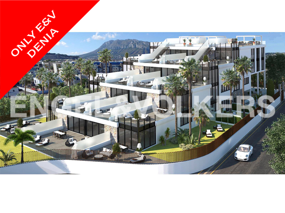 New luxury complex in Las Marinas km.1, Denia