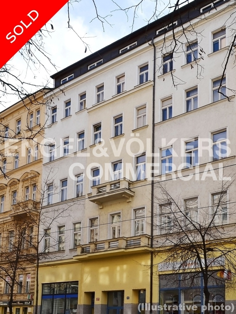 Investment / Residential investment in Vinohrady