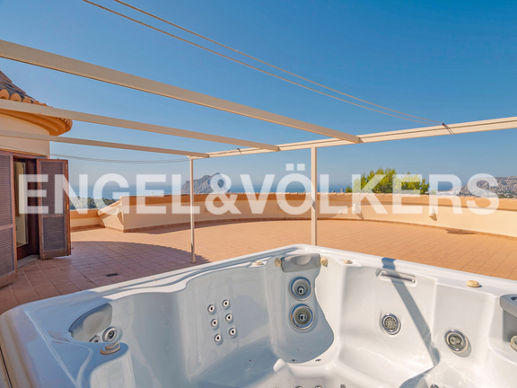 House in Calpe - High Quality Luxury Villa with Sea Views in Calpe, Terrace