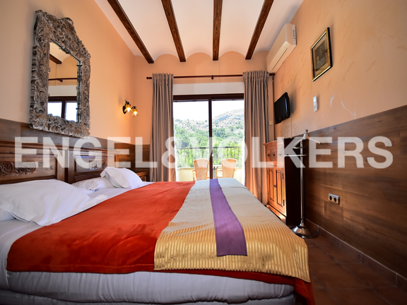 House in Finestrat - Charming villa, in natural environment in Finestrat. Bedroom