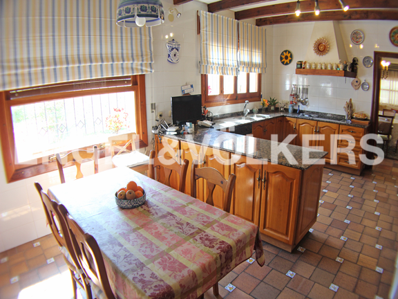 House in Benidorm Rincón de Loix - Sunny Manor House in Quiet Area. Kitchen