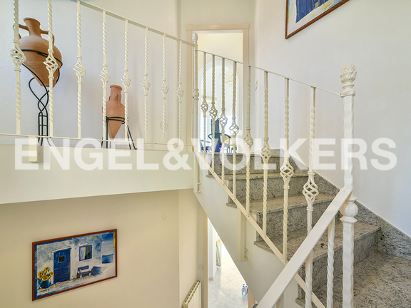 House in Calpe - Inside stairs