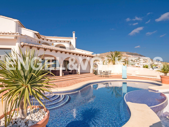 First Line Luxury Villa in Cumbre del Sol - Moraira, Villa