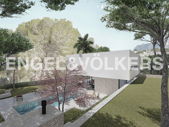 Stunning Modern High Quality New Build in Moraira Costa