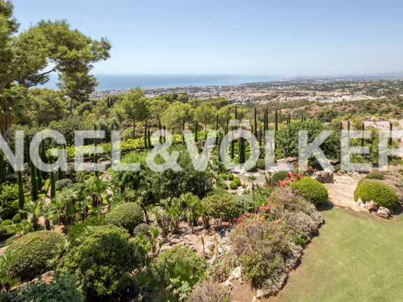 House in Marbella City - Panoramic View